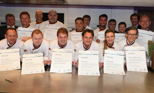 Alle Brot-Sommeliers mit Diplom